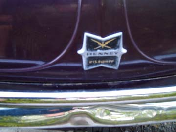 Henney Kilowatt hood ornament